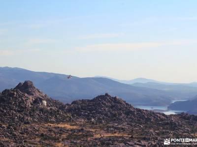 Sierra de la Cabrera-Pico de la Miel;parque natural de las batuecas años luz viajes catarata del ne